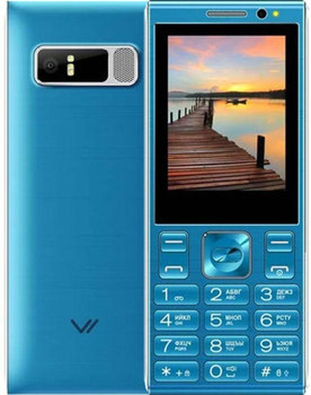 Мобильный телефон Vertex D536, синий мобильный телефон vertex d536 brown