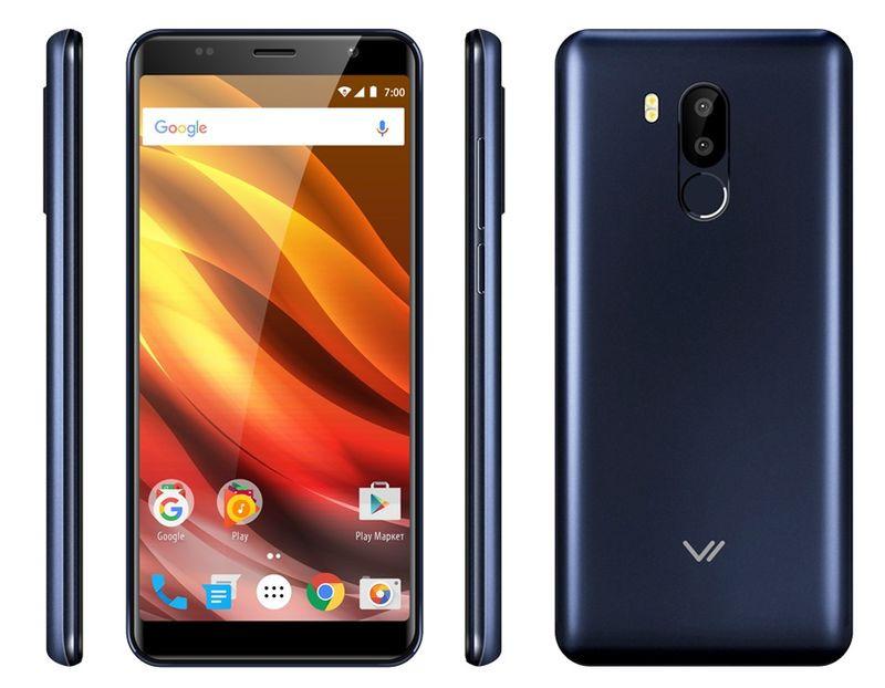 Смартфон Vertex Impress Fire 2/16GB, синий
