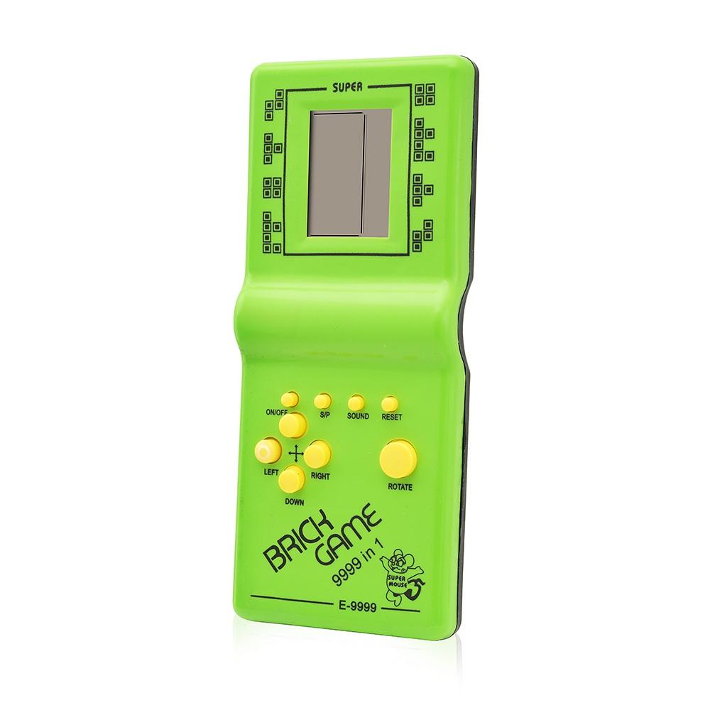 Электронная игрушка FindusToys Тетрис FindusToys, FD-02-050/Зеленый зеленый игра настольная findustoys не урони пингвина fd 18 040