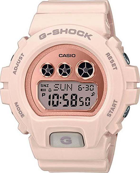 Часы наручные Casio, GMD-S6900MC-4ER, коралловый все цены