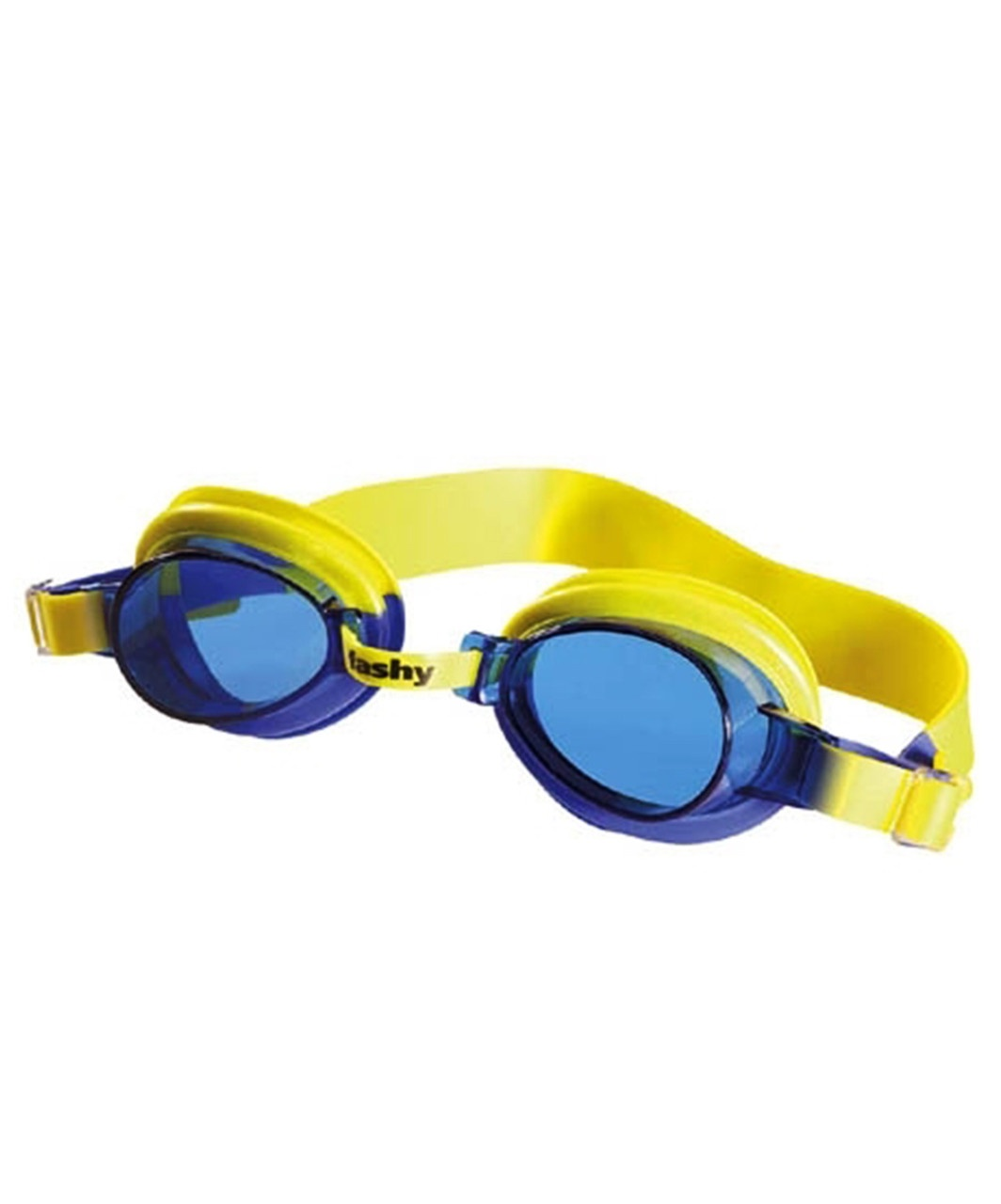 цена Очки для плавания детские FASHY TOP Junior, 4105-77, желтый, синий онлайн в 2017 году