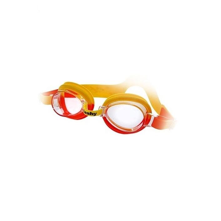 цена Очки для плавания детские FASHY TOP Junior, 4105-03, желтый, оранжевый онлайн в 2017 году