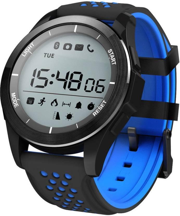 Умный фитнес-браслет ZDK F3, 3392, синий, черный умный фитнес браслет zdk f3 3393 черно красный page 3 page 3