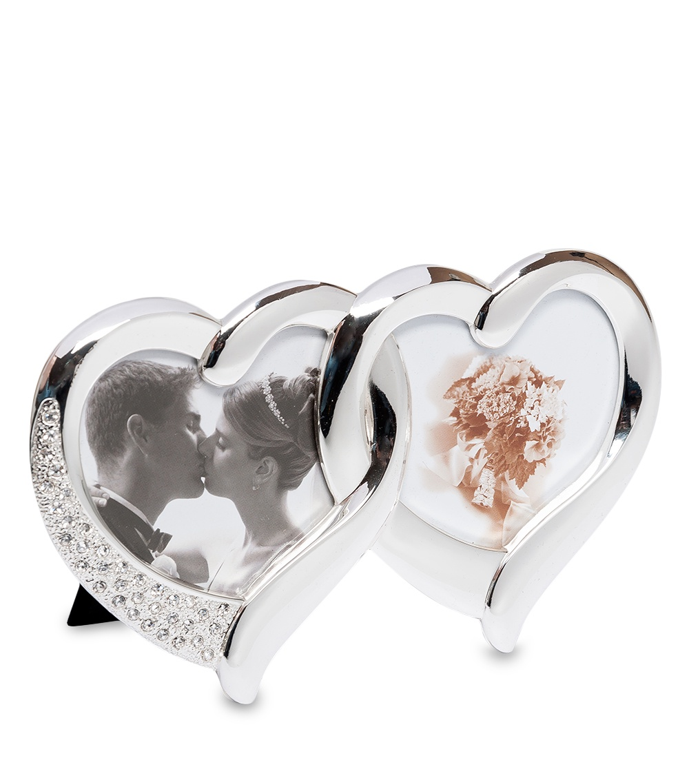 Фоторамка Belezza Casa Влюбленные сердца, 60141, на 2 фото 7х7 влюбленные сердца