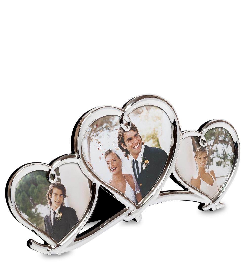 Фоторамка Belezza Casa Влюбленные сердца, 602009, на 3 фото 9х8, 11х11 влюбленные сердца