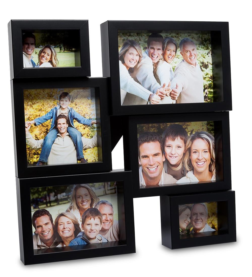 Панно из фоторамок Belezza Casa ''Семейная история'', на 6 фото: 8х6, 10х10, 15х10 chk 213фоторамка панно хай тек на 6 фото