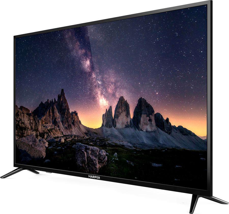 Телевизор Harper 55U750TS 55, черный fit 32135