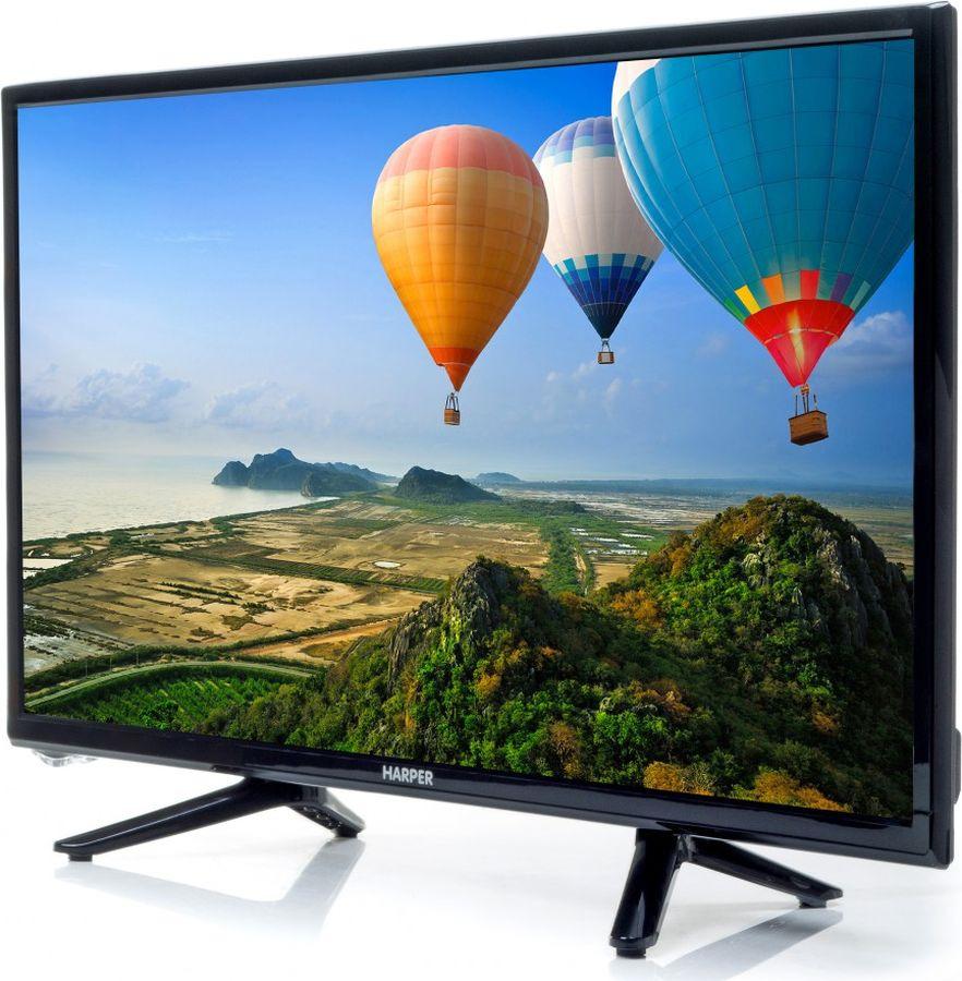 Телевизор Harper 22F470 22, черный прошивки для dvd проигрывателей