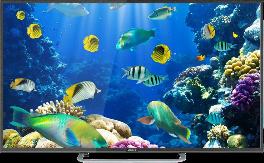 Телевизор Harper 40F660TS 40, черный