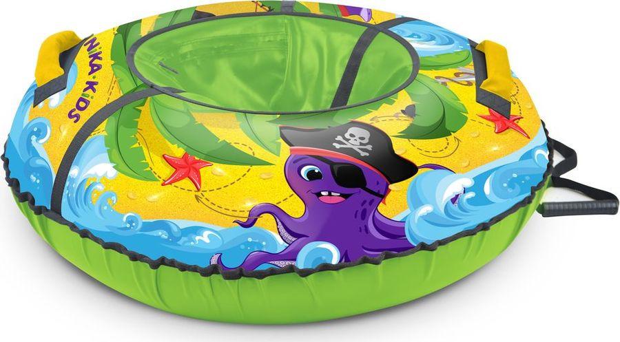 цена на Тюбинг Nika Kids ТБ3К-85, 000190640006, зеленый, желтый, фиолетовый, 85 см