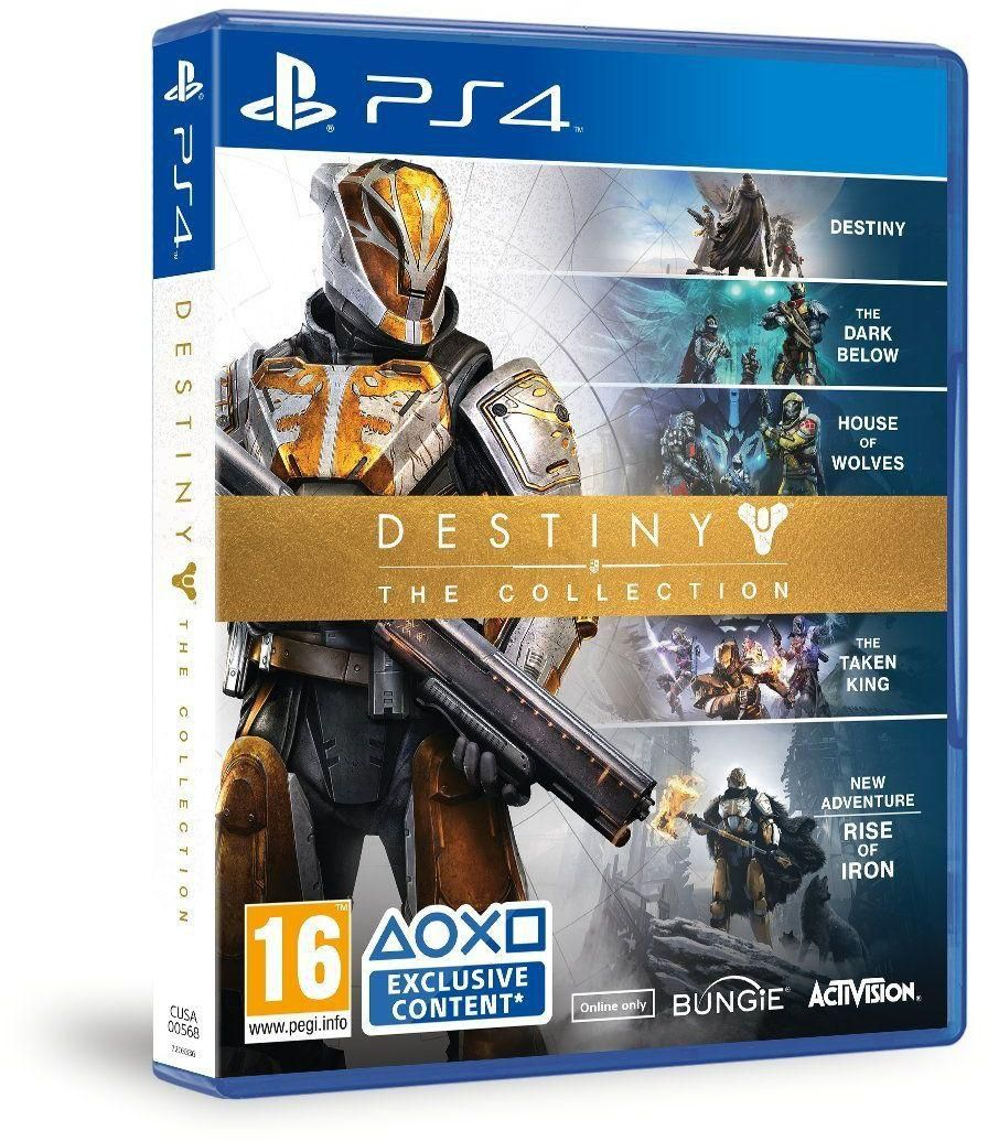 Игра Destiny: The Collection для PS4 Sony blueprints of destiny