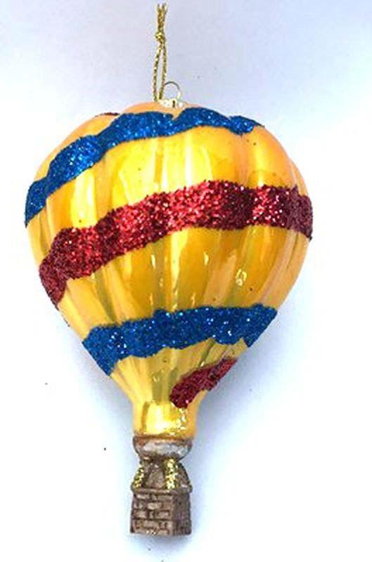 Игрушка ёлочная Русские подарки Воздушный шар, 11 х 7 см игрушка ёлочная русские подарки колокольчик 8 см