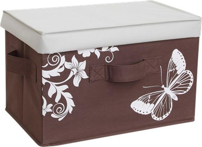 Ящик для хранения Hausmann, 4F-101B, 43 x 27 x 27 см ящик для хранения белья hausmann 30х35х11 см