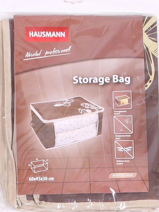 Органайзер для хранения Hausmann большой, 4P-203, коричневый, 60 x 45 x 30 см цена в Москве и Питере