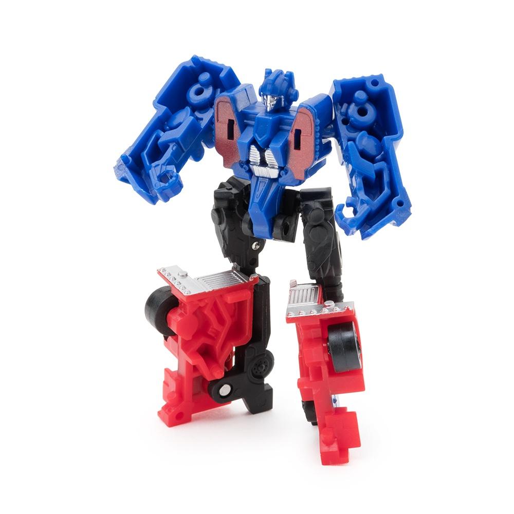 Робот-трансформер FindusToys Грузовик, FD-10-004, красный, синий роботы education line roboblock робот герой xl 89 элементов