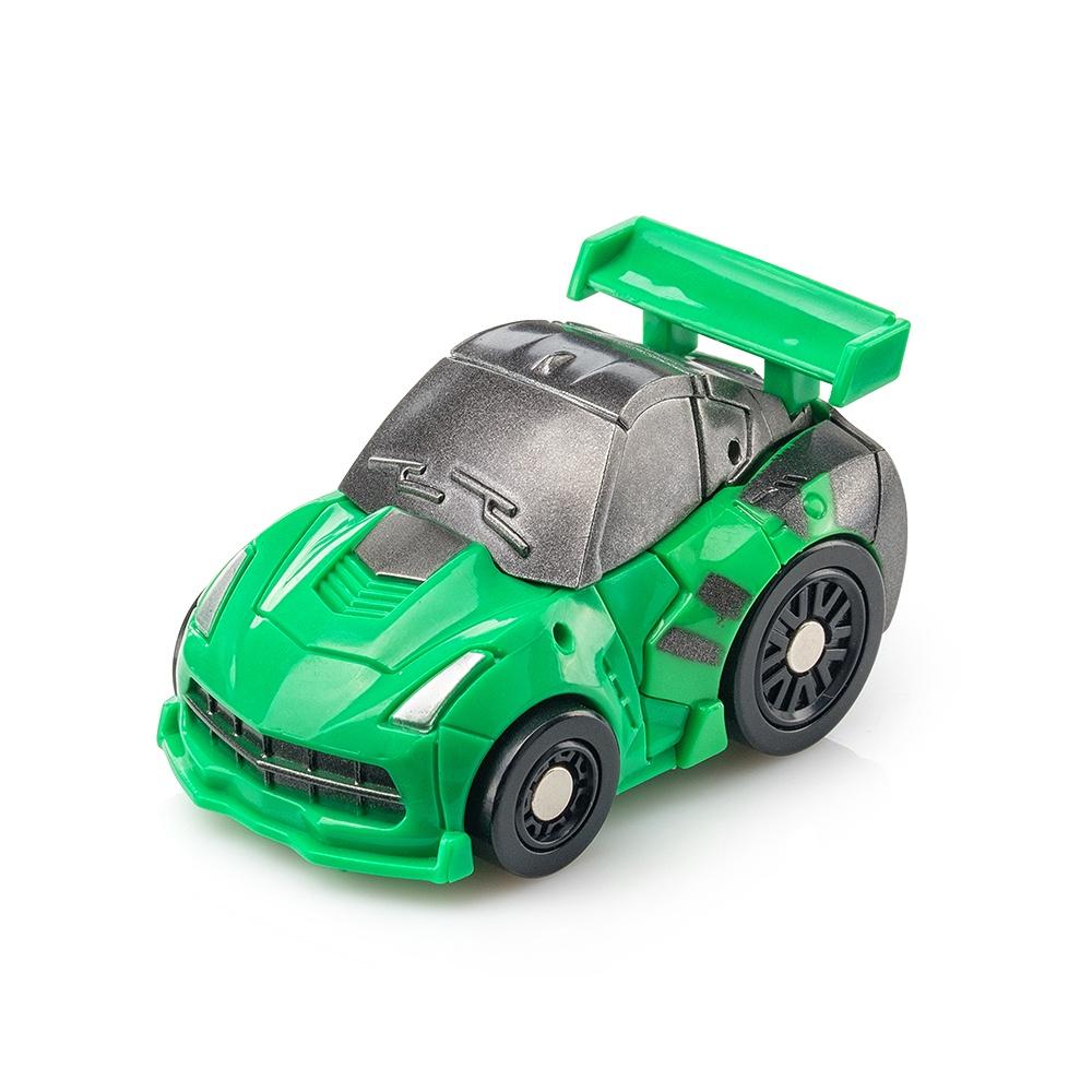 Мини трансформер FindusToys Спортивная машина, FD-10-049, зеленый военные игрушки для детей did y26 36 ss067 fbi hrt
