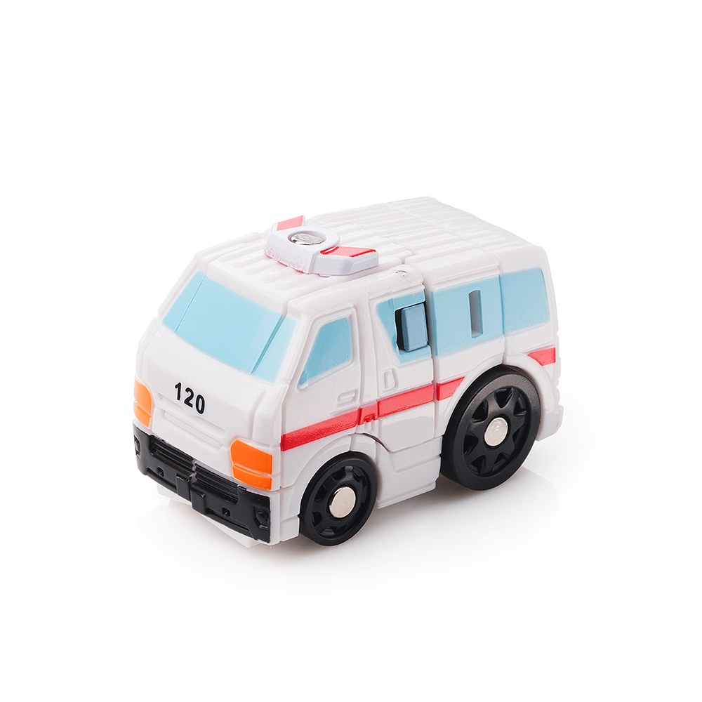Мини-трансформер FindusToys Машина FD-10-045, белый военные игрушки для детей did y26 36 ss067 fbi hrt