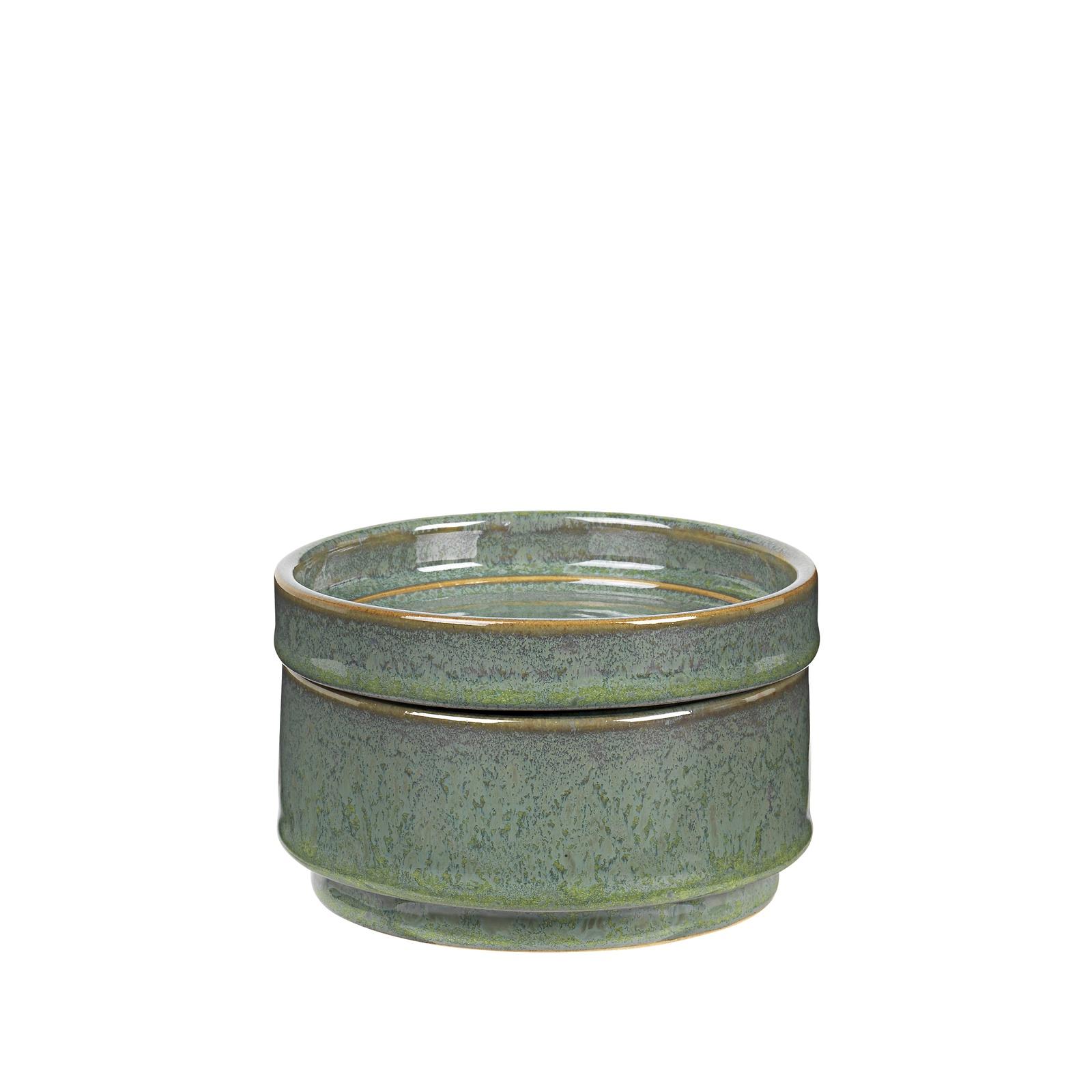 Шкатулка Broste Annie, 15500272, керамика, 12 х 12 х 7.5 см цена