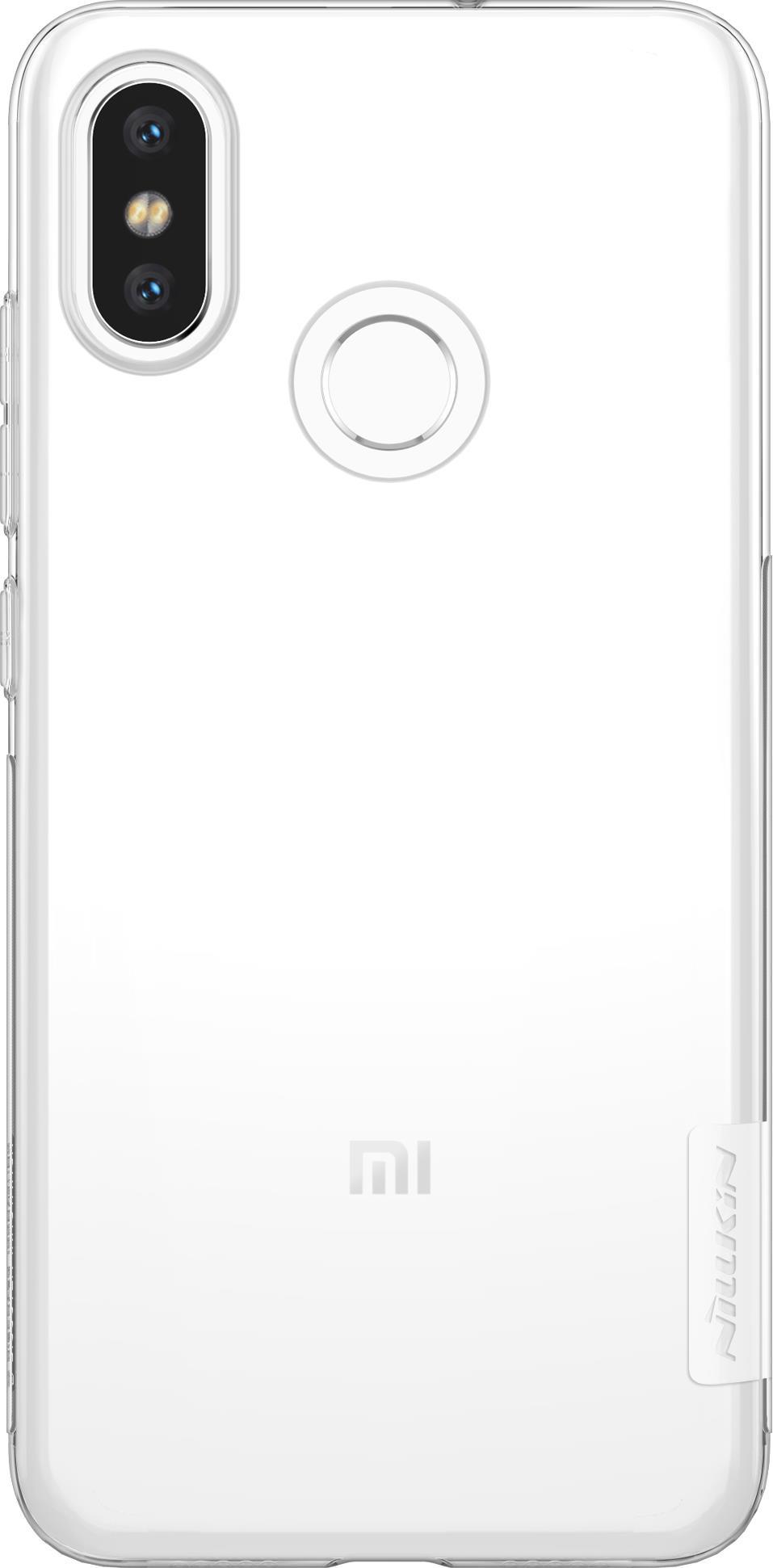 Накладка Nillkin TPU для Xiaomi Mi 8, 6902048159358, белый силиконовая накладка nillkin для xiaomi mi a2 white
