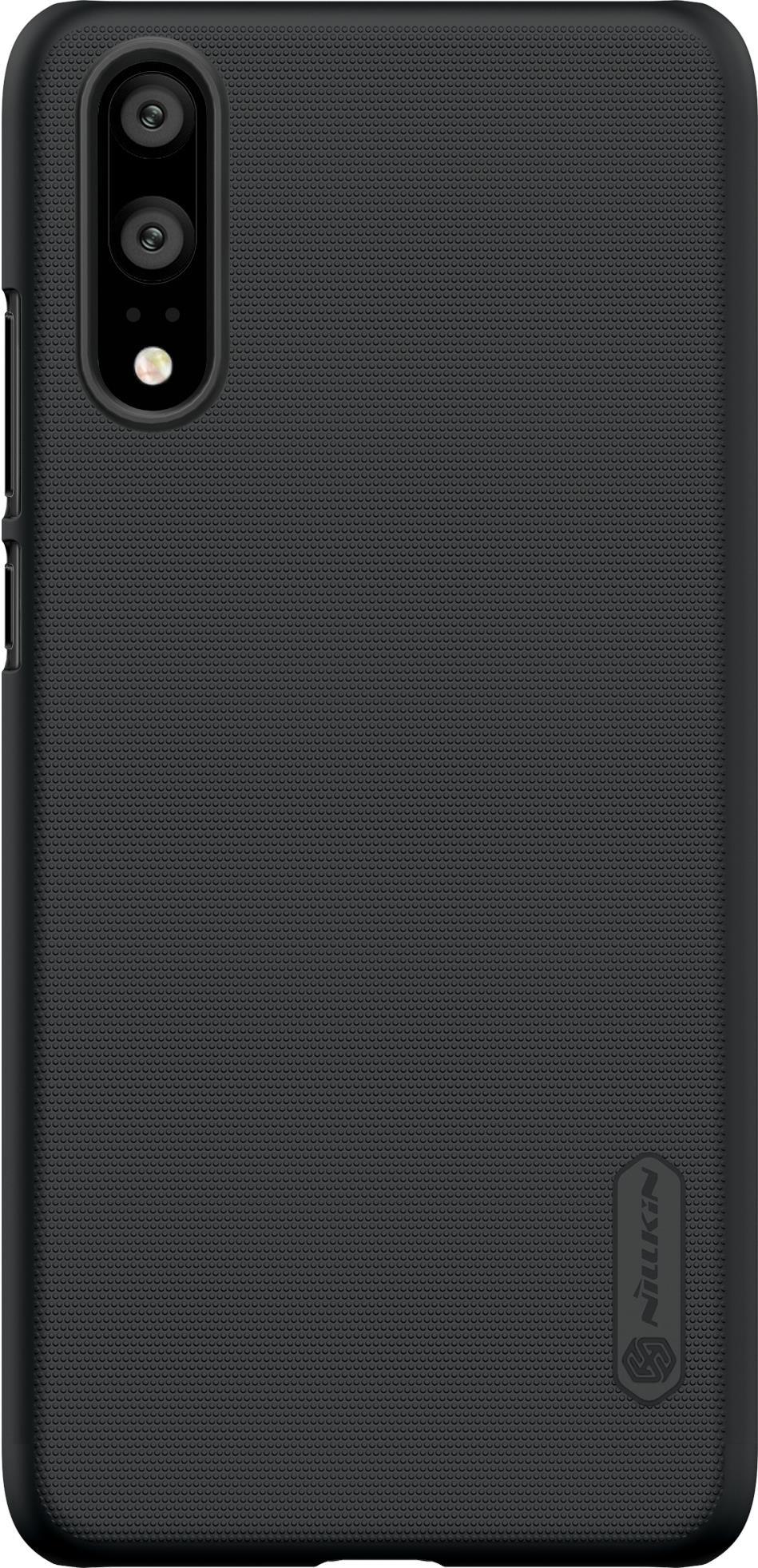 Накладка Nillkin Super Frosted для Huawei P20, 6902048155756, черный аксессуар чехол накладка huawei ascend g620 cherry white 8283