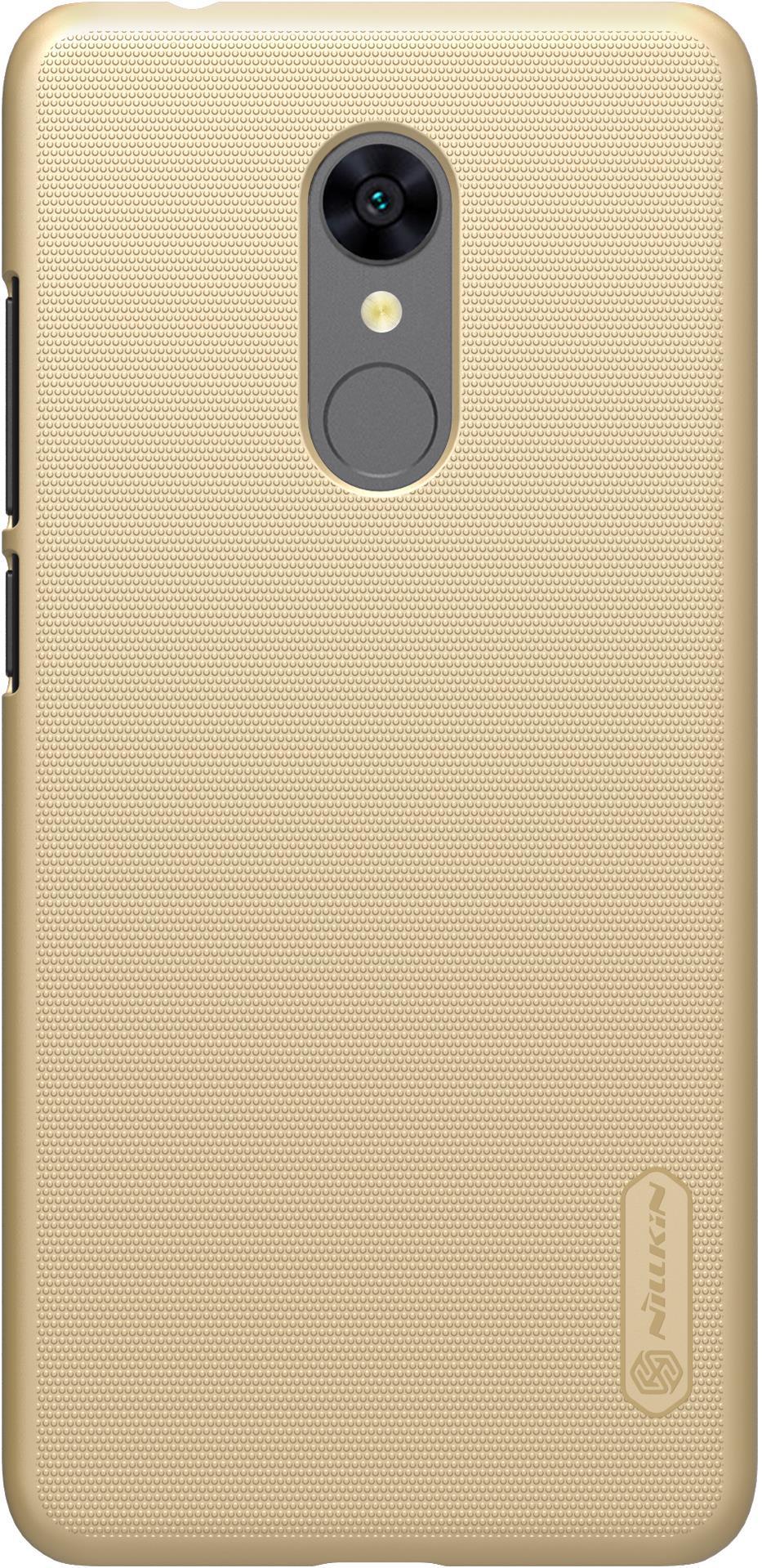 Накладка Nillkin для Xiaomi Redmi 5, 6902048151963, золотистый xiaomi redmi 5