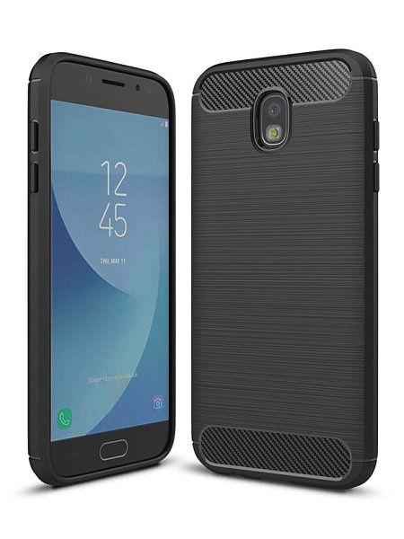 """Чехол для сотового телефона UVOO Силиконовый чехол """"Carbon Design"""" для Samsung Galaxy J7 2017"""