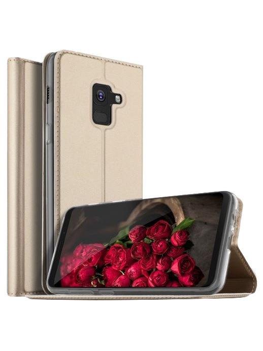"Чехол для сотового телефона With love. Moscow Чехол-книжка ""Jack"" для Samsung Galaxy A8+ Plus 2018"