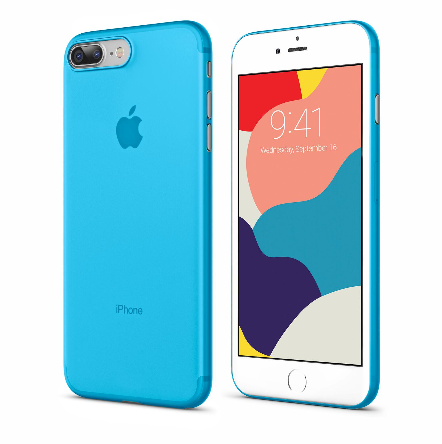 Чехол Vipe Flex для Apple iPhone 7 Plus / 8 Plus, 644-VPIP7PFLEXBLUE, голубой чехол vipe flex для apple iphone x 644 vpipxflexred красный