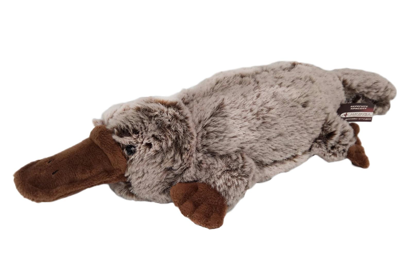 АБВГДЕЙКА Мягкая игрушка Утконос, 37 см