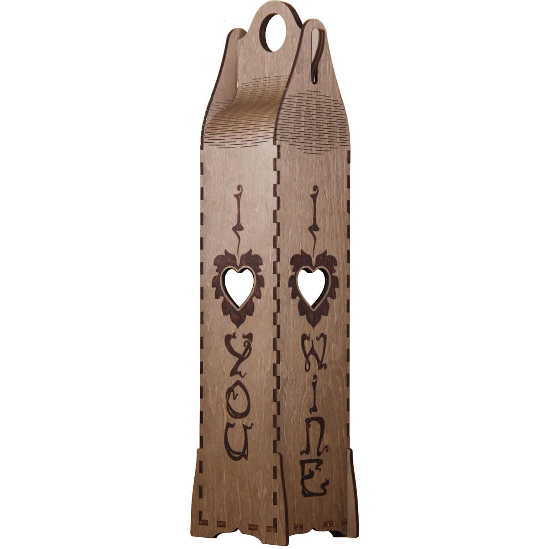 Kоробка винная Eco Wood Art Романтика, ebw-rebw-rКоробка для хранения винных напитков