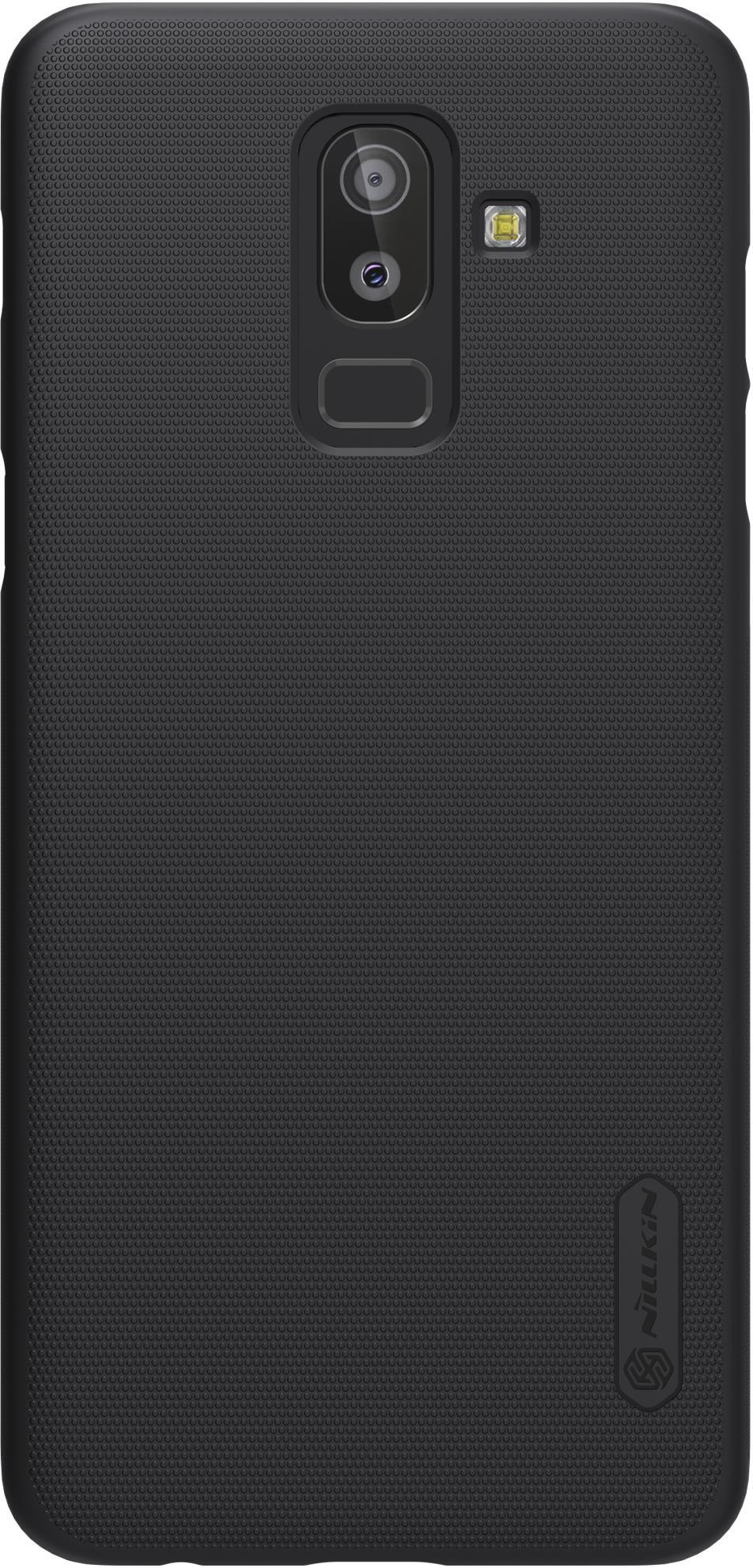 Накладка Nillkin Super Frosted для Galaxy J8, 6902048161306, черный