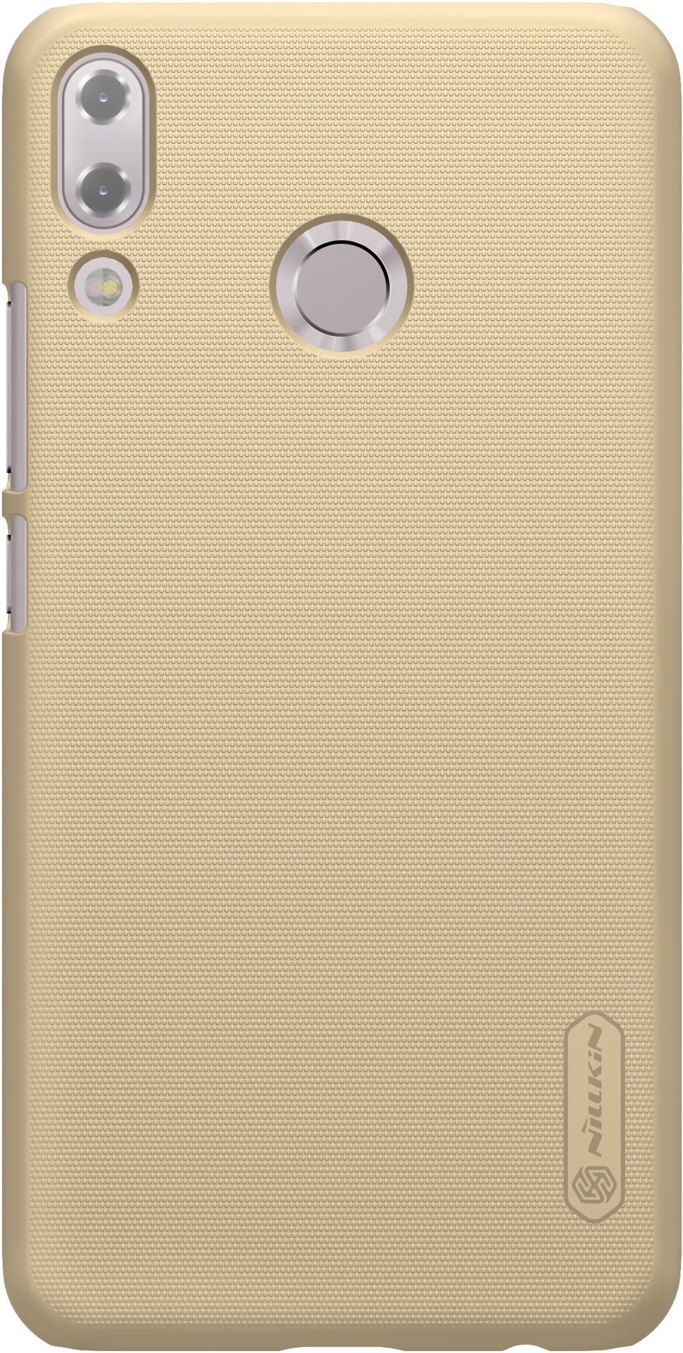Накладка Nillkin Super Frosted для ZenFone 5 ZE620KL, 6902048157132, золотистый смартфон asus zenfone 5 ze620kl 4 64gb midnight blue