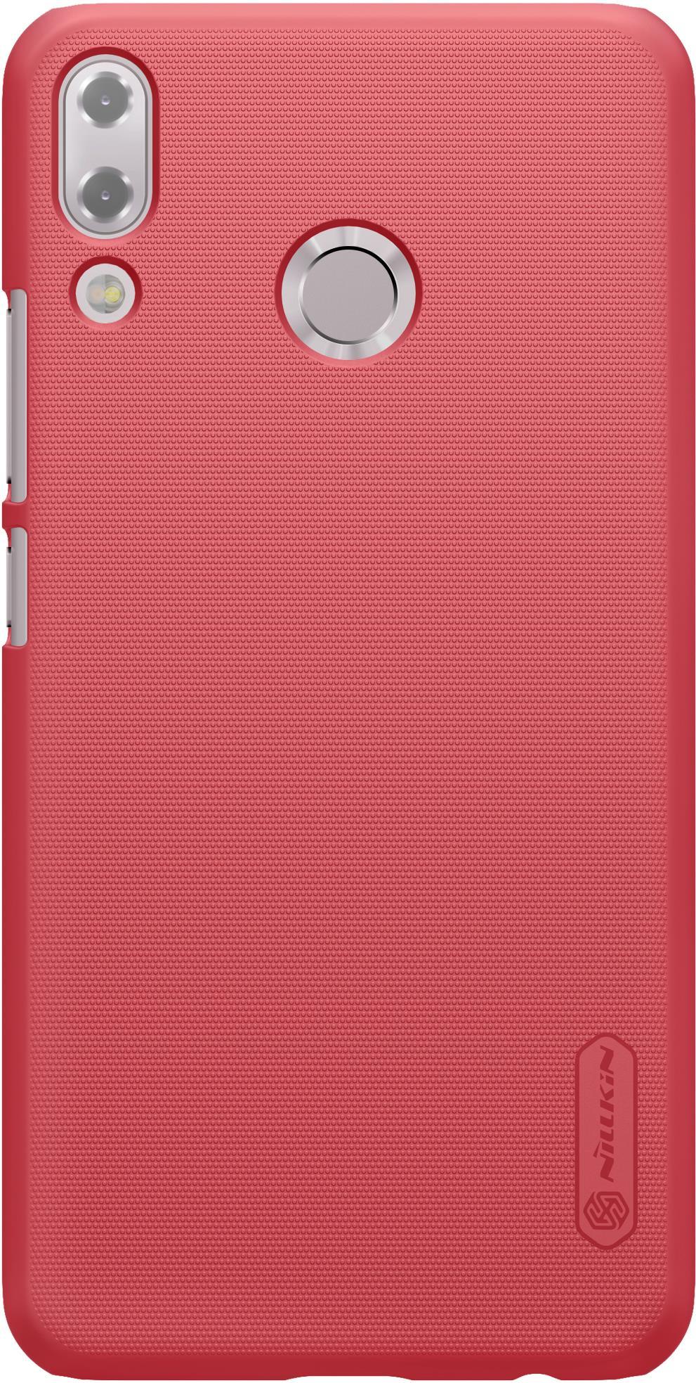 Накладка Nillkin для ZenFone 5 ZE620KL, 6902048157125, красный смартфон asus zenfone 5 ze620kl 4 64gb midnight blue