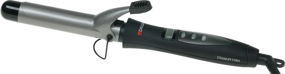 Щипцы для завивки Dewal TitaniumT Pro, 25мм, черный щипцы для завивки dewal titaniumt pro 33мм черный
