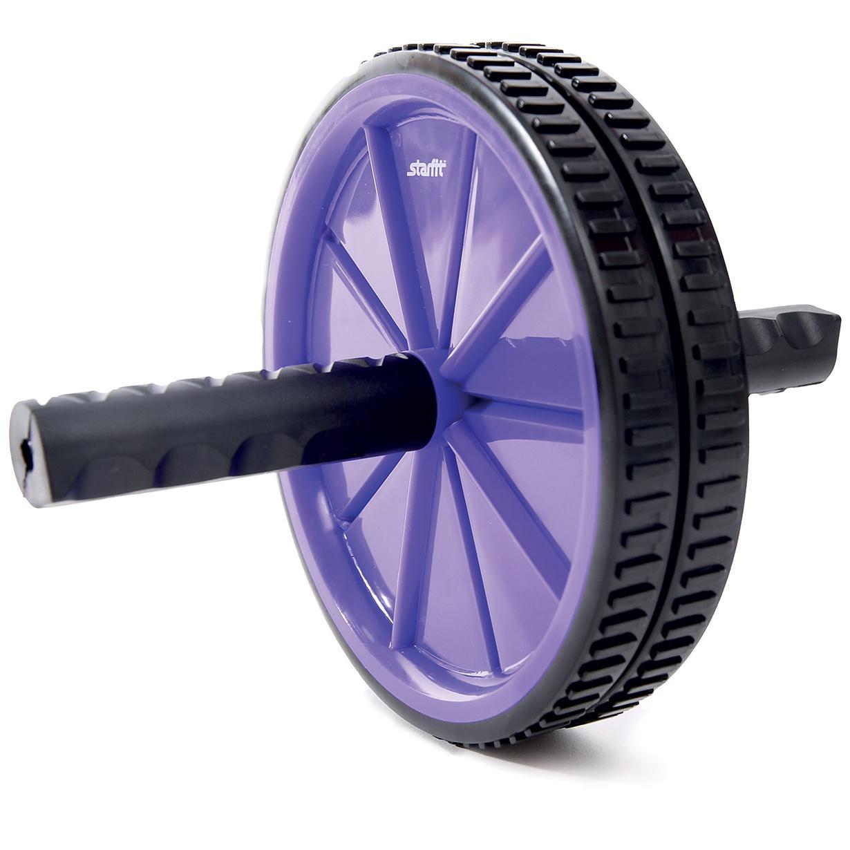 все цены на Ролик для пресса STARFIT RL-101, фиолетовый/черный онлайн