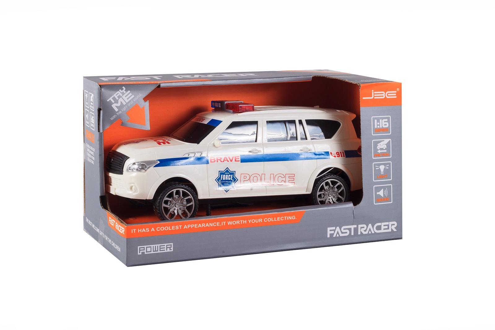 Машинка S+S Полиция, 200269415, белый