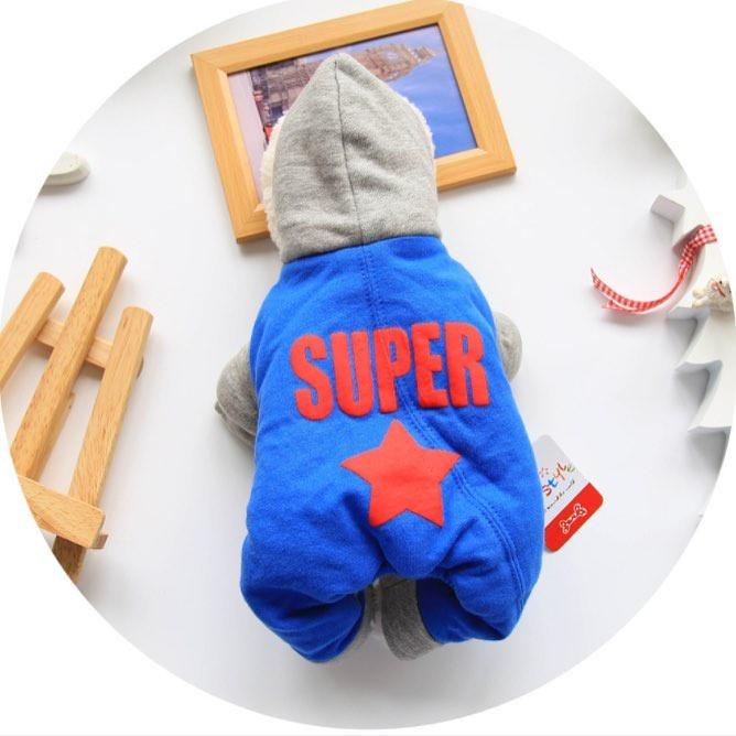 Одежда для собак Arnydog.ru Комбинезон Super синий 17ZF136-2_m