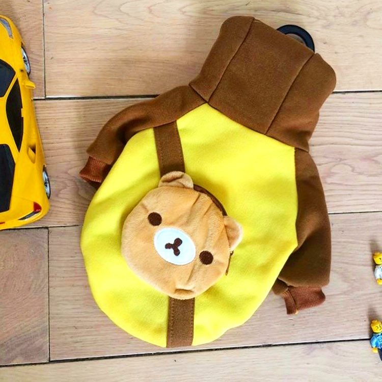 Одежда для собак Arnydog.ru Толстовка 6#Желтый мишка