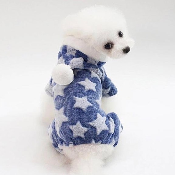 """Комбинезон для собак Arnydog.ru """"Звезда"""", голубой, размер L (29 см)"""