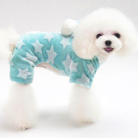 """Комбинезон для собак Arnydog.ru """"Звезда"""", мятный, размер S (21 см)"""