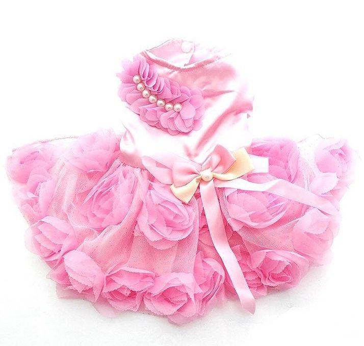"""Платье для собак Arnydog.ru """"Princess"""", K002, розовый, размер XL (34см)"""