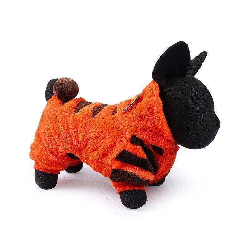 "Комбинезон для собак Arnydog.ru ""Тигр"", размер S (28 см)"