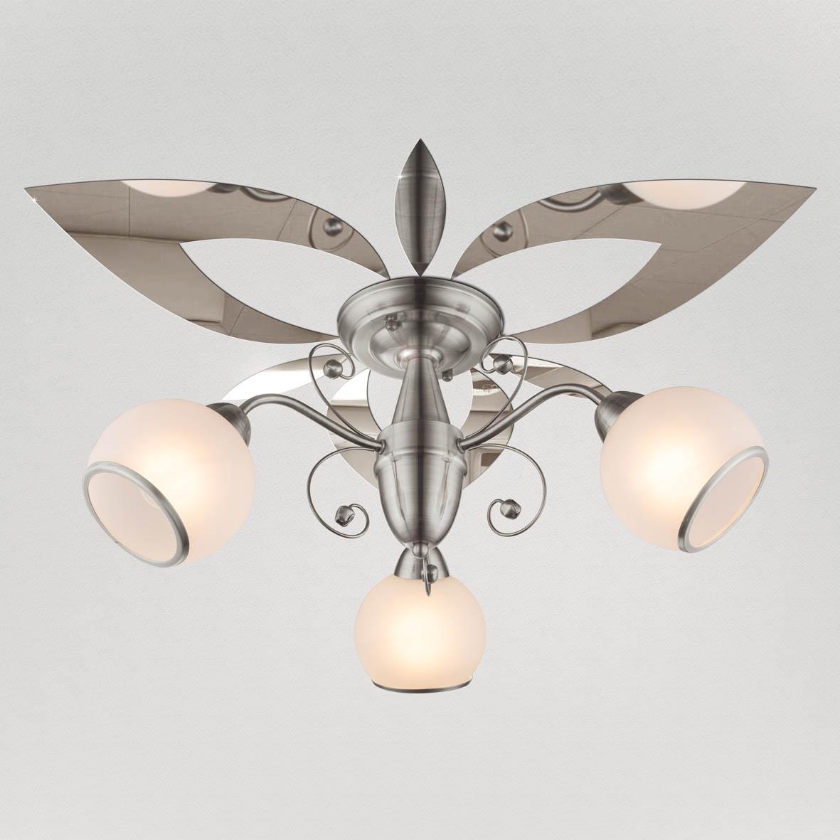Декор под люстру Ваша Светлость Лилия-3 зеркальный, 417-2-00411CR, хром417-2-00411CRУкрашения потолочные для люстр и светильников из акрилового зеркала на самоклеющейся основе, предназначен для самостоятельного декорирования потолков и стен вокруг люстр и светильников. Количество элементов в комплекте - 36. Максимальный размер одного элемента - 18см . Оптимальный диаметр на поверхности - 100 см