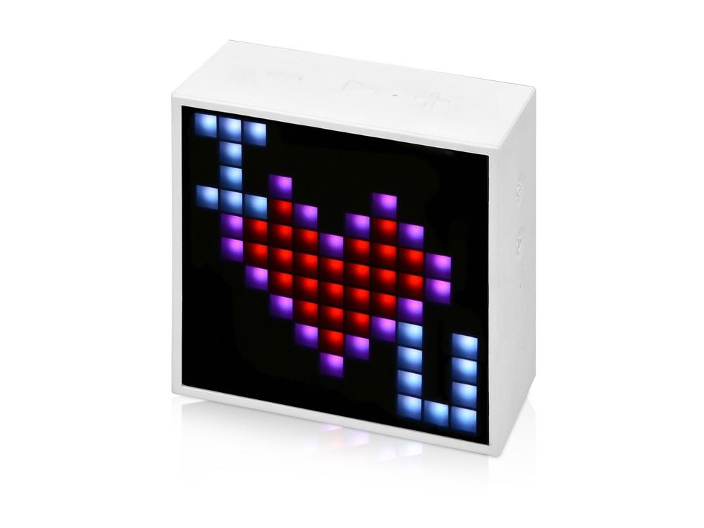 Беспроводная колонка Divoom Timebox Mini, белый беспроводная колонка divoom