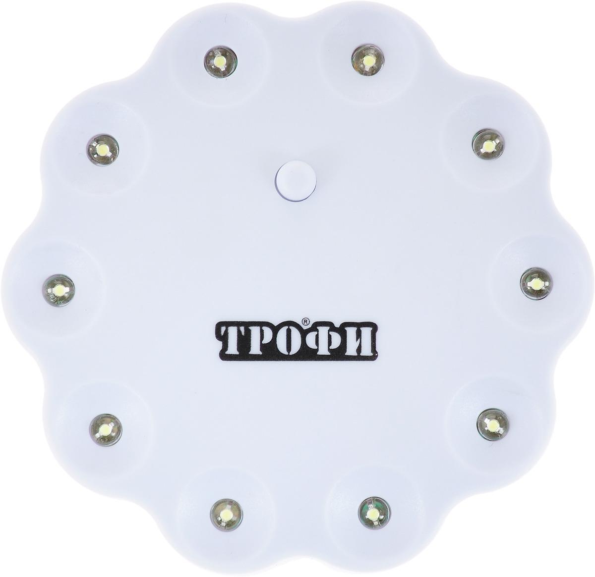 Кемпинговый фонарь Трофи, TK10, белый, LED + Батарейки