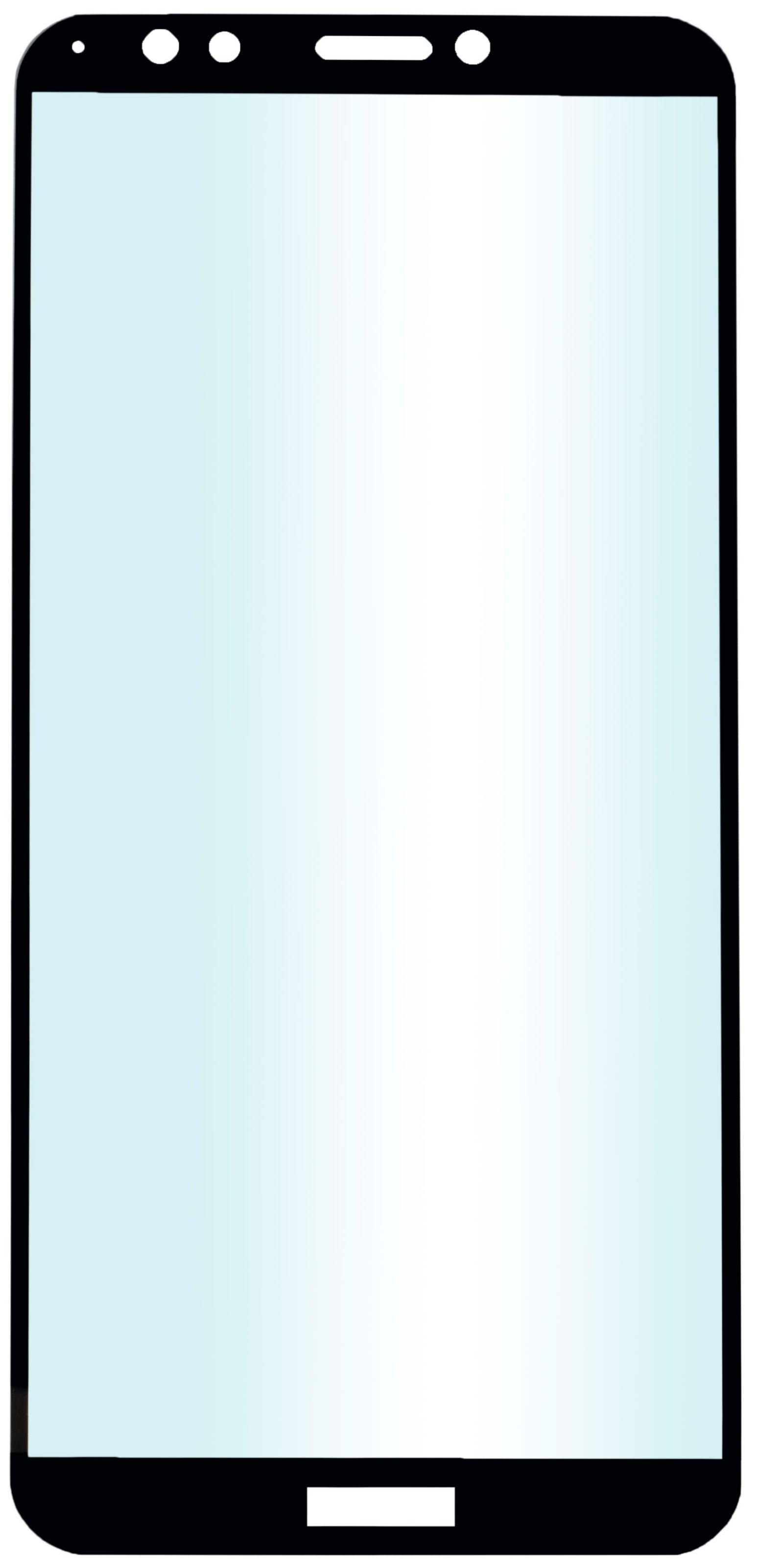 Защитное стекло skinBOX, для Huawei 7C Pro, 4660041405453, черный защитное стекло skinbox full screen 4630042522787 черный