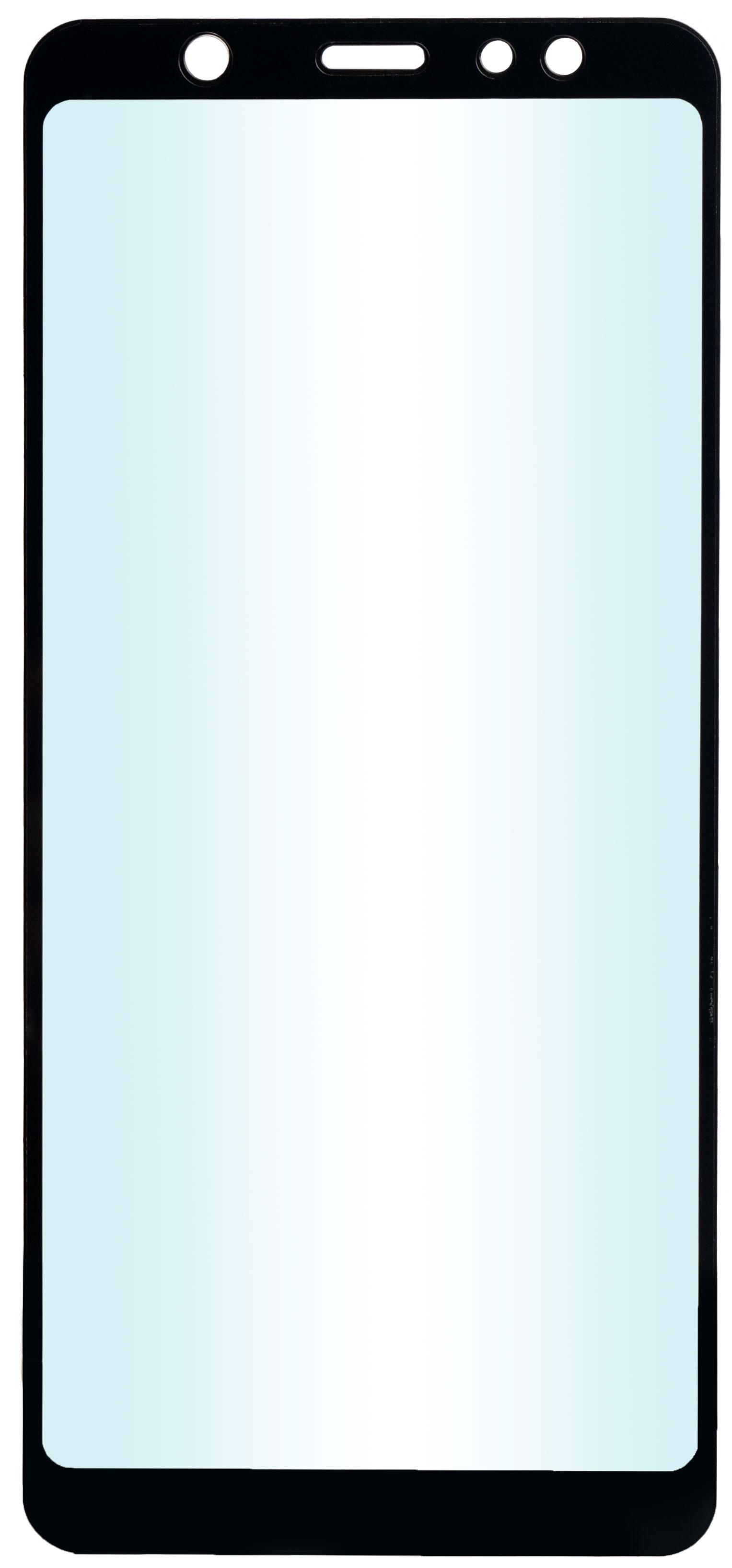 Защитное стекло skinBOX, для Samsung Galaxy A6+, 4660041405422, черный защитное стекло skinbox для samsung galaxy j4 4660041405392 черный