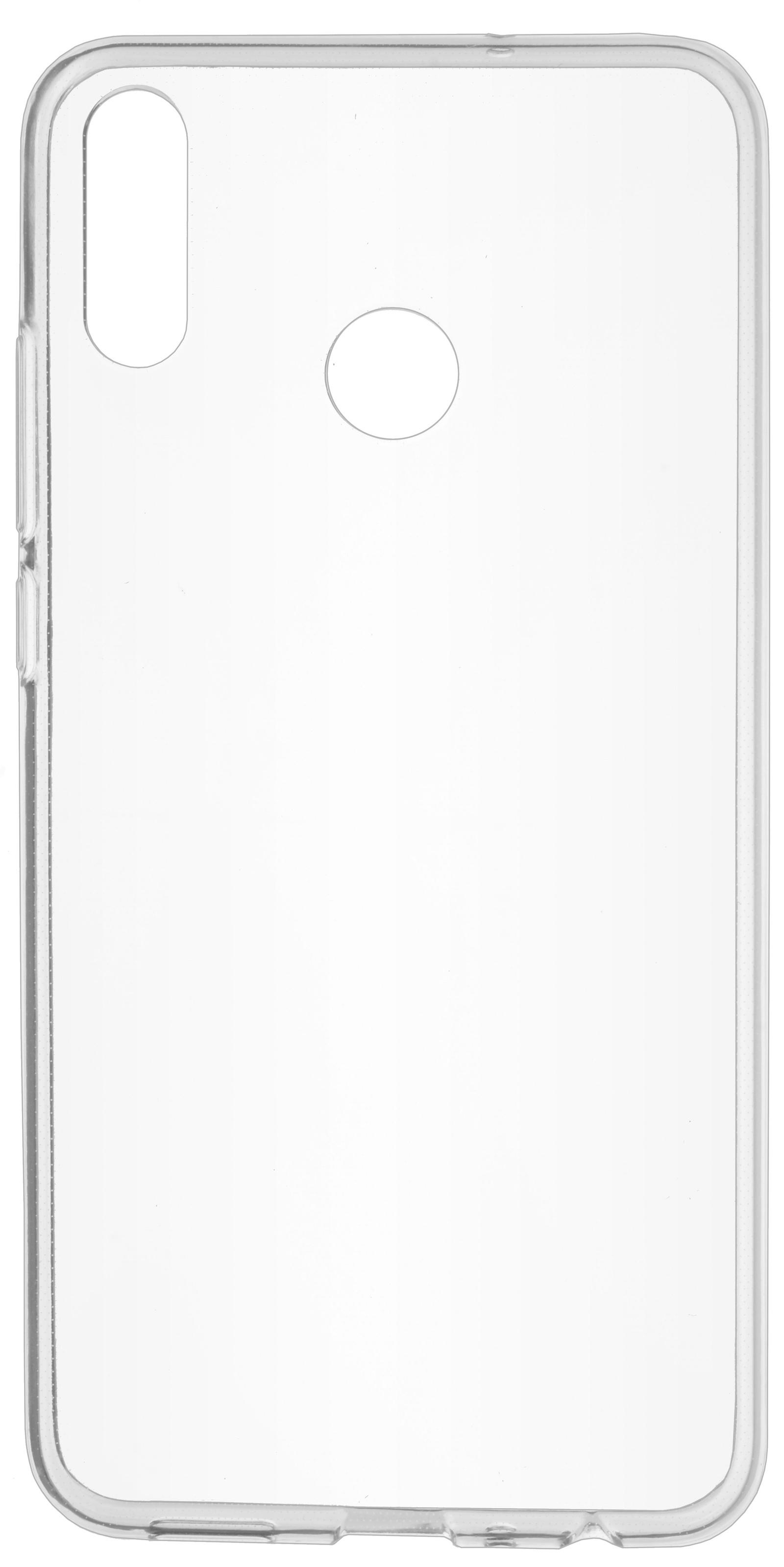 Накладка Skinbox Slim Silicone для Honor 8X, 4630042520622, прозрачный skinbox накладка skinbox slim silicone для lg v20