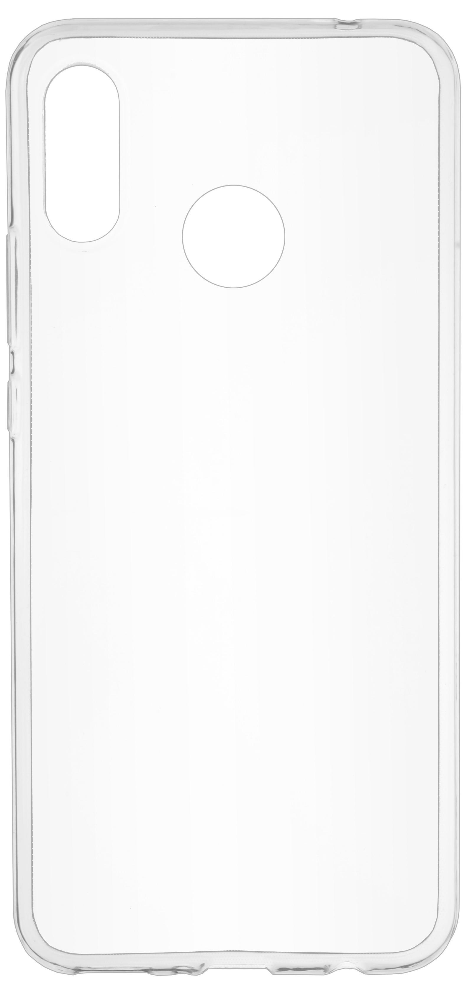 Накладка Skinbox Slim Silicone для Huawei Nova 3, 4660041406375, прозрачный цена и фото
