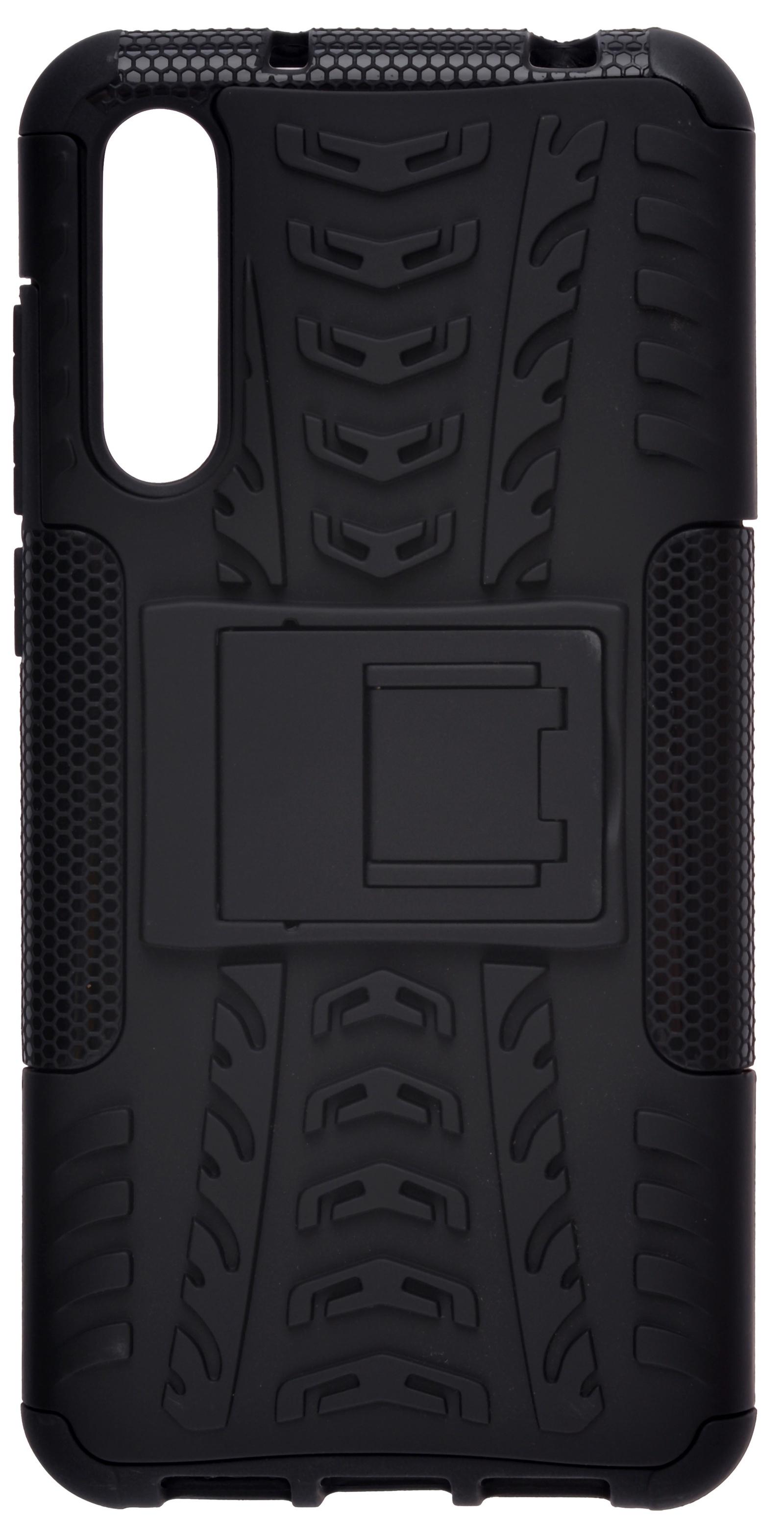 купить Накладка Skinbox Defender для Huawei P20 Pro, 4630042520738, черный по цене 490 рублей